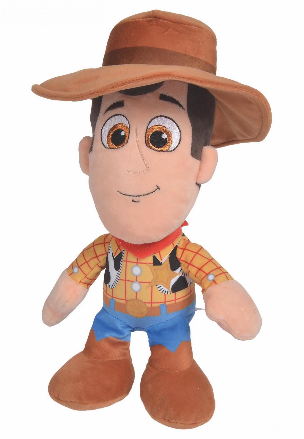 DISNEY - Peluche Toy Story 4 : Woody - 25cm