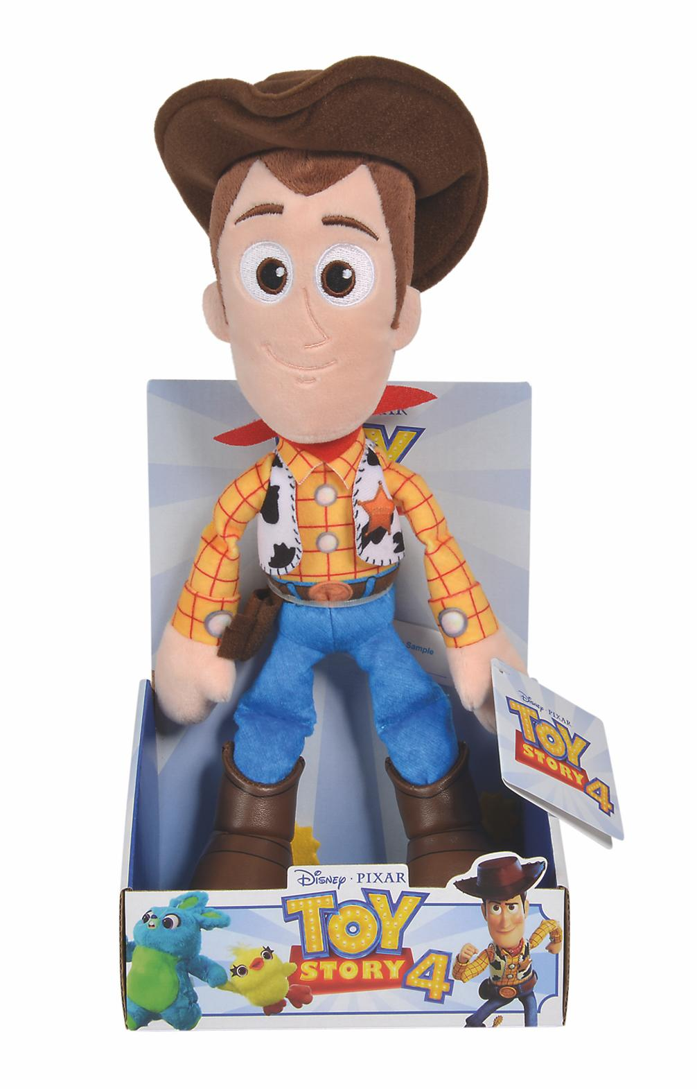 DISNEY - Peluche Toy Story 4 - Woody - 25cm
