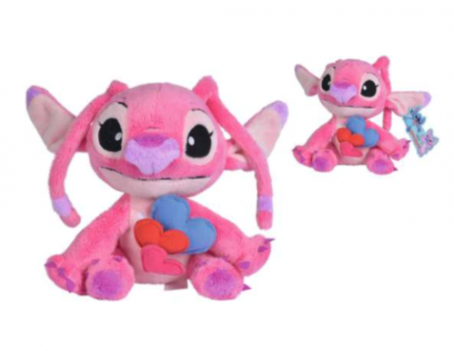 DISNEY - Peluche Valentine Angel Hearts - 25cm