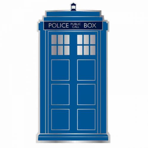 DOCTOR WHO - Pin Badge Enamel - Tardis