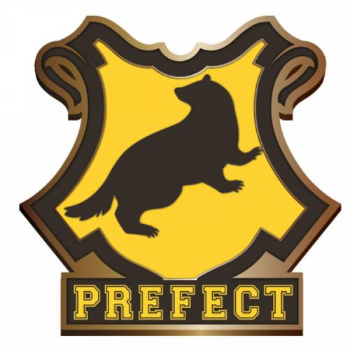 HARRY POTTER - Pin Badge Enamel - Hufflepuff Perfect