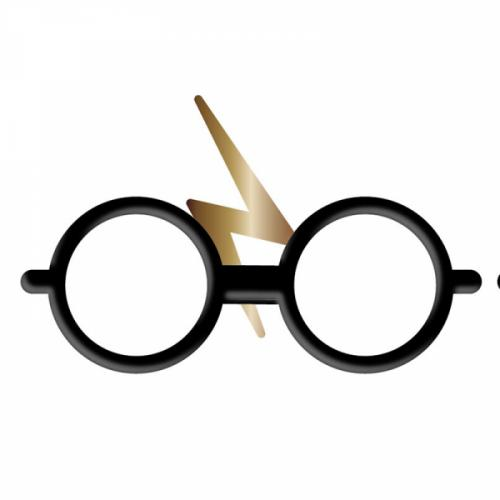 HARRY POTTER - Pin Badge Enamel - Glasses and Scar