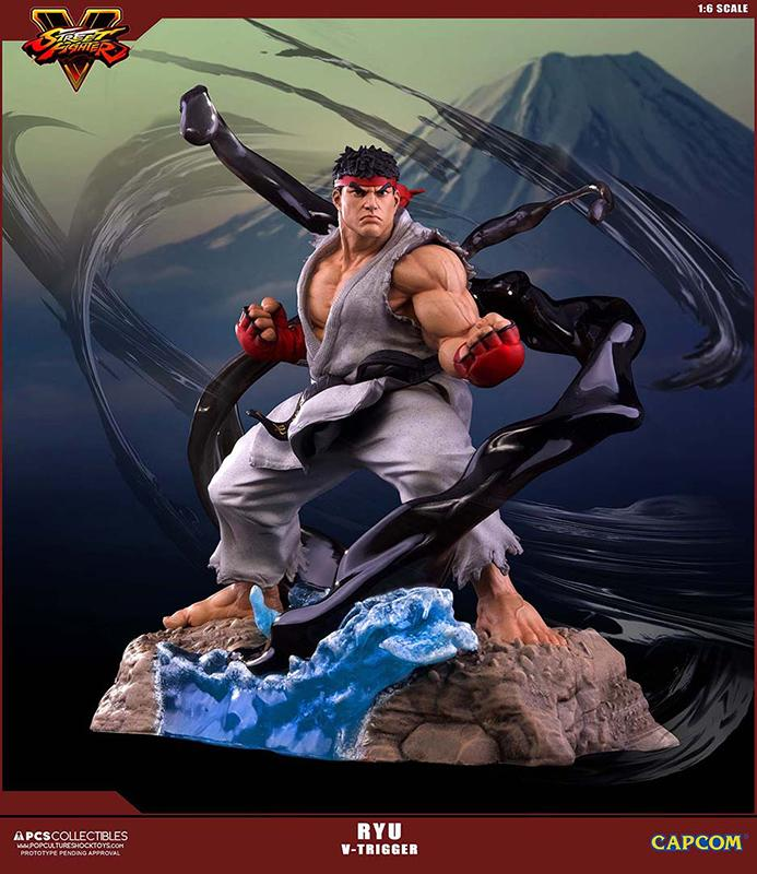 SUPER STREET FIGHTER V - Ryu V-Trigger Figure - 32cm