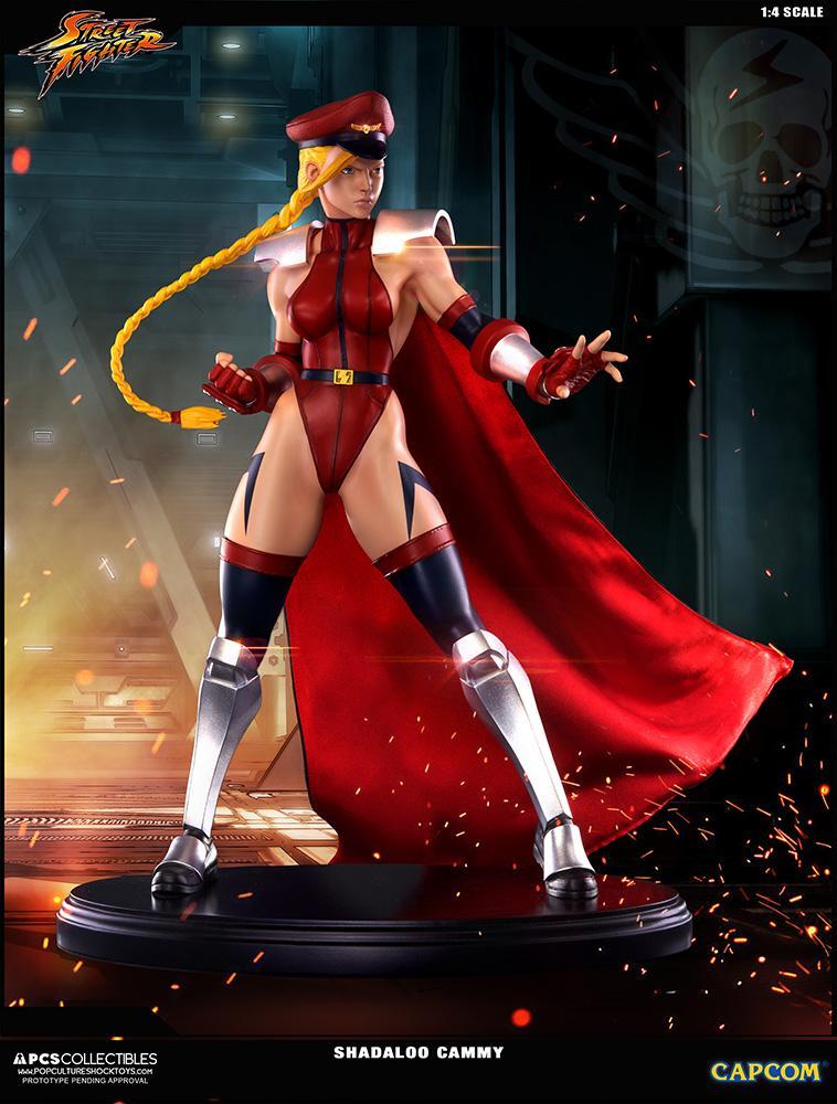 SUPER STREET FIGHTER IV - Shadaloo Cammy Figure - 43cm