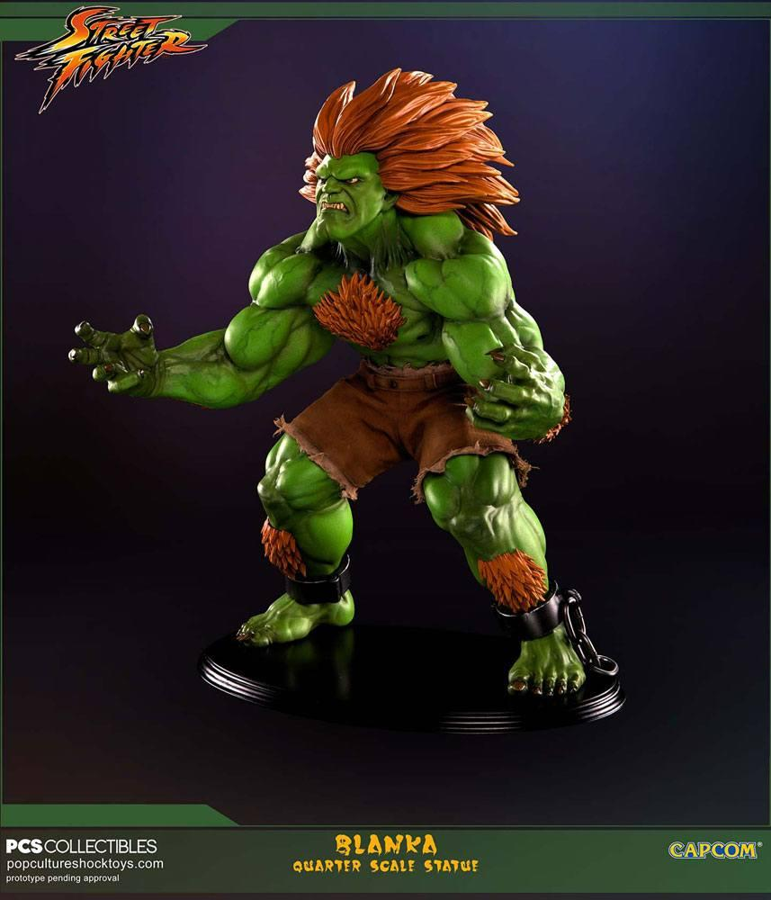 STREET FIGHTER - Blanka 1:4 Scale Stature - 43cm