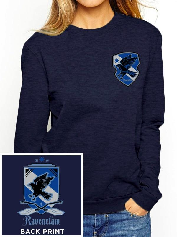 HARRY POTTER - Sweatshirt GIRL - Ravenclaw (L)