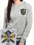 HARRY POTTER - Pullover Hoodie GIRL - Hufflepuff (S)