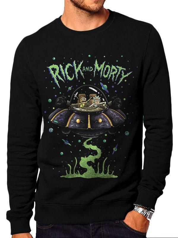 RICK & MORTY - Sweatshirt Space (XL)