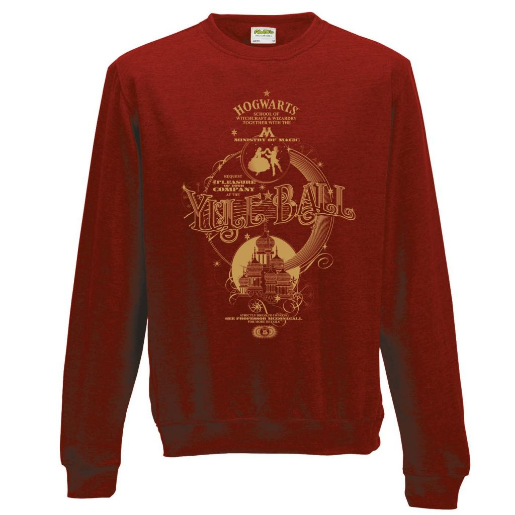 HARRY POTTER - Sweat a col round - Yule Ball (XL)_2
