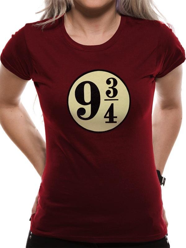 HARRY POTTER - T-Shirt Platform 9 3/4 GIRL (L)