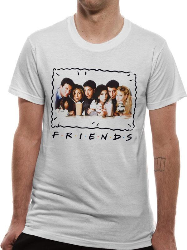FRIENDS - T-Shirt IN A TUBE - Milkshake (L)