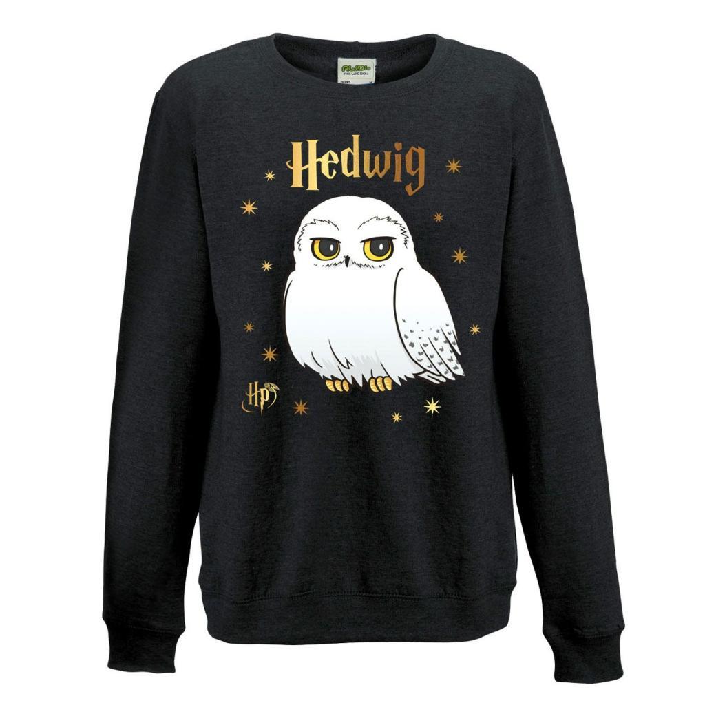 HARRY POTTER - Sweatshirt GIRL - Foil Hedwig Star (S)_2
