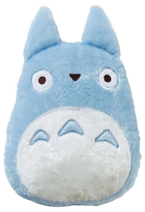 MON VOISIN TOTORO - Blue Totoro - Coussin peluche '33x29'
