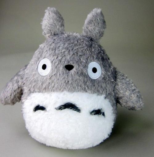 STUDIO GHIBLI - Fluffy Big Totoro - Peluche 22cm