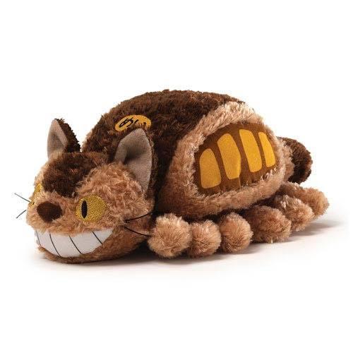 STUDIO GHIBLI - Little Fluffy Cat Bus - Peluche 20cm