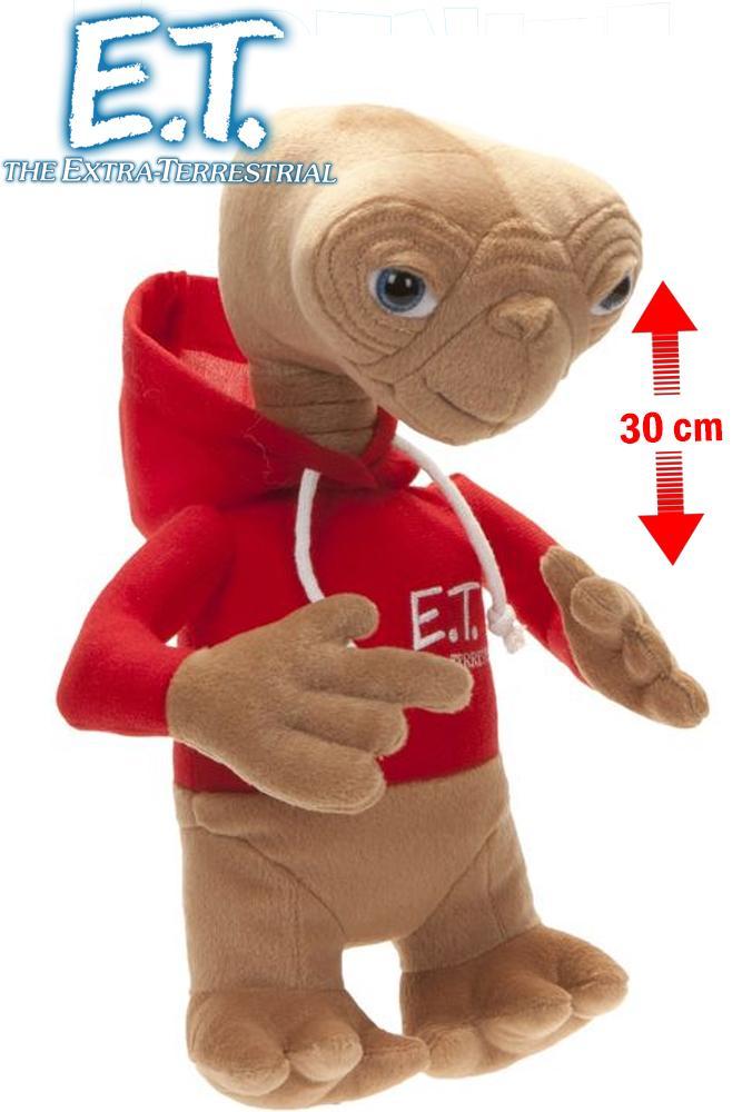 E.T. - Peluche - E.T. L'estra-Terreste avec Blouse - 30cm