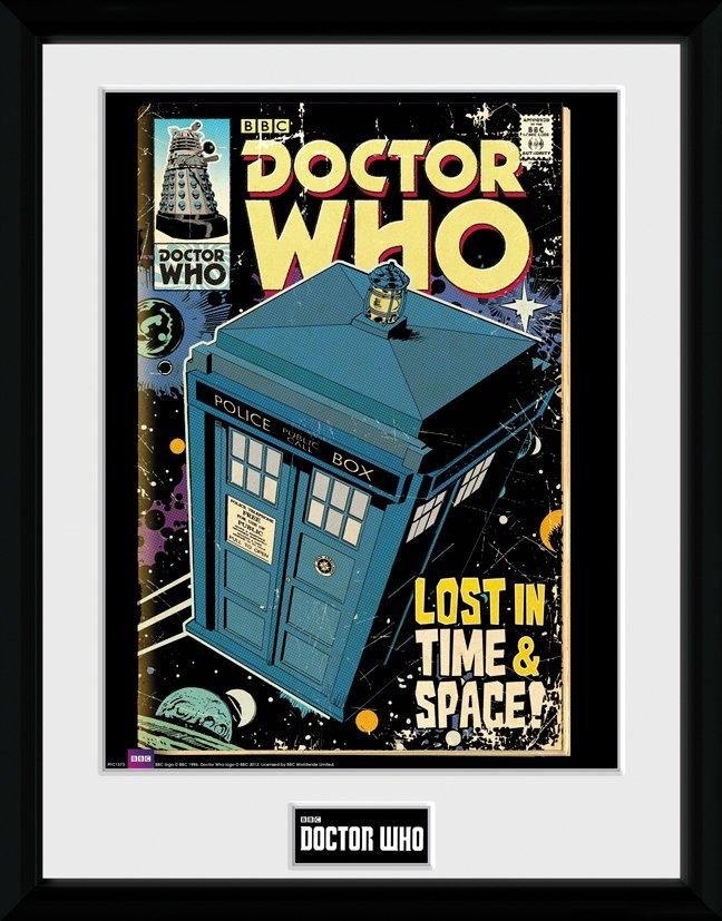 DOCTOR WHO - Collector Print 30X40 - Tardis Comic_1