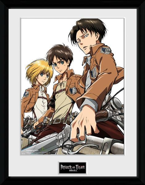 ATTACK ON TITAN - Collector Print 30X40 - Group