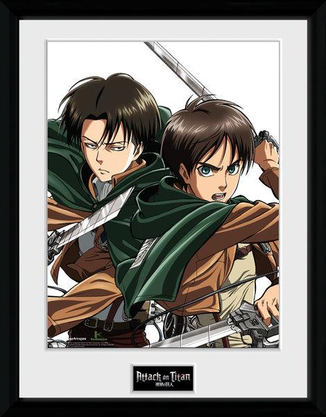 ATTACK ON TITAN - Collector Print 30X40 - Caracters