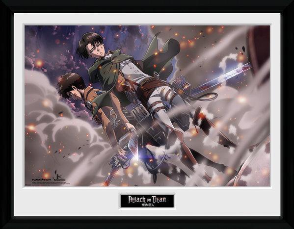 ATTACK ON TITAN - Collector Print 30X40 - Smoke Blast