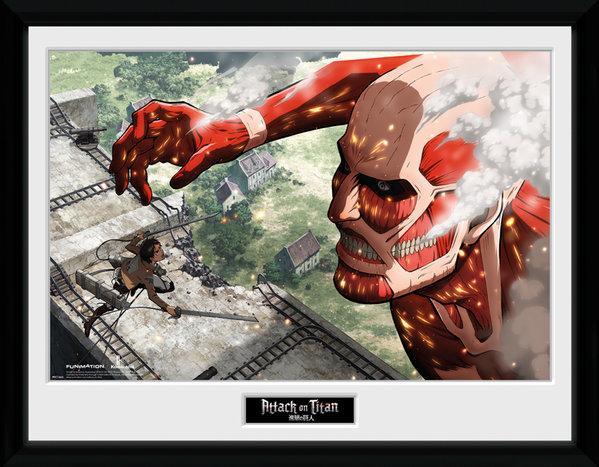 ATTACK ON TITAN - Collector Print 30X40 - Titan