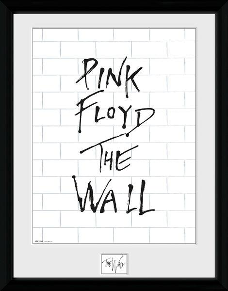 PINK FLOYD - Collector Print 30X40 - White Wall