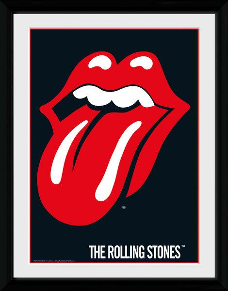 ROLLING STONES - Collector Print 30X40 - Lips