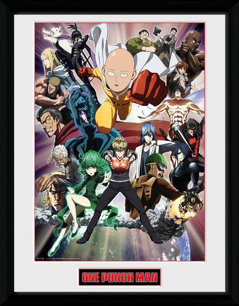 ONE PUNCH MAN - Collector Print 30X40 - Key Art