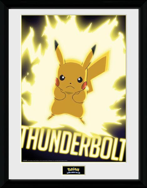 POKEMON - Collector Print 30X40 - Thunder Bolt Pikachu_1
