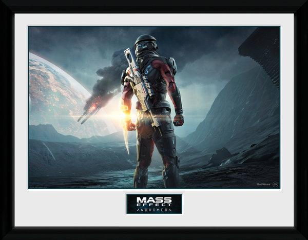 MASS EFFECT ANDROMEDA - Collector Print 30X40 - Landscape