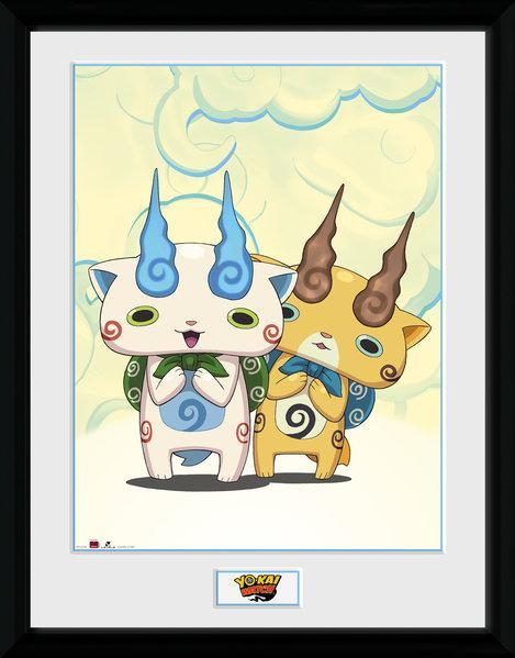 YO-KAI WATCH - Collector Print 30X40 - Koma Brothers