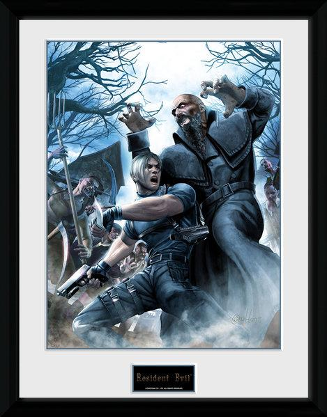 RESIDENT EVIL - Collector Print 30X40 - Leon