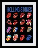 ROLLING STONES - Collector Print 30X40 - Tongues - Bravado