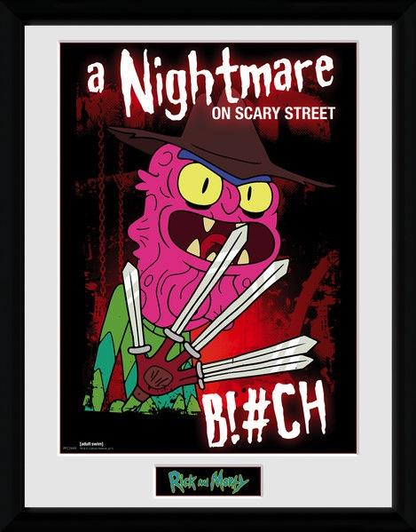 RICK & MORTY - Collector Print 30X40 - Scary Terry