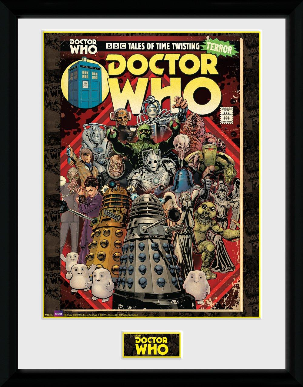 DOCTOR WHO - Collector Print 30X40 - Villains Comic