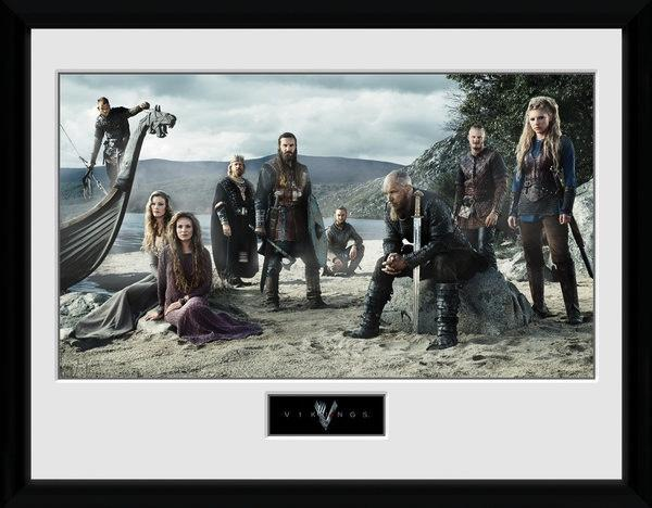 VIKINGS - Collector Print 30X40 - Beach