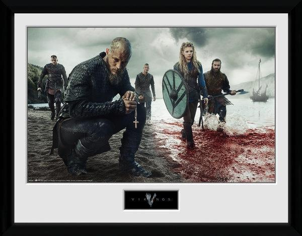 VIKINGS - Collector Print 30X40 - Blood Landscape