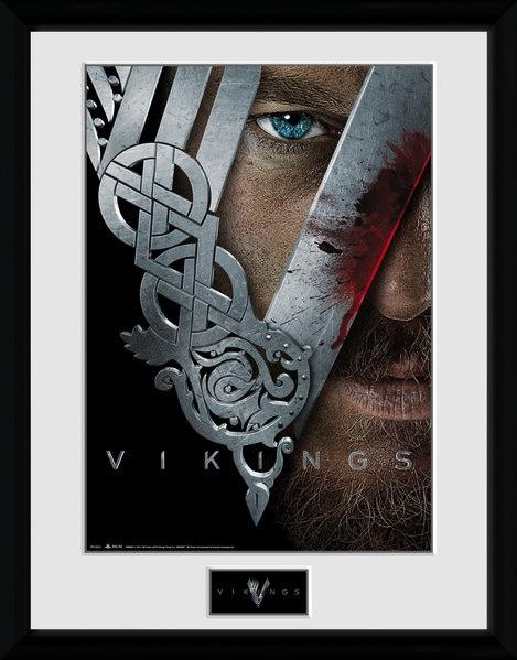 VIKINGS - Collector Print 30X40 - KeyArt