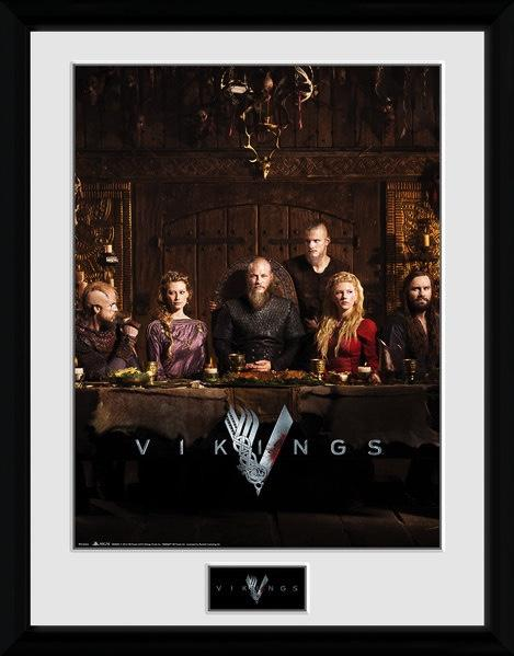 VIKINGS - Collector Print 30X40 - Table
