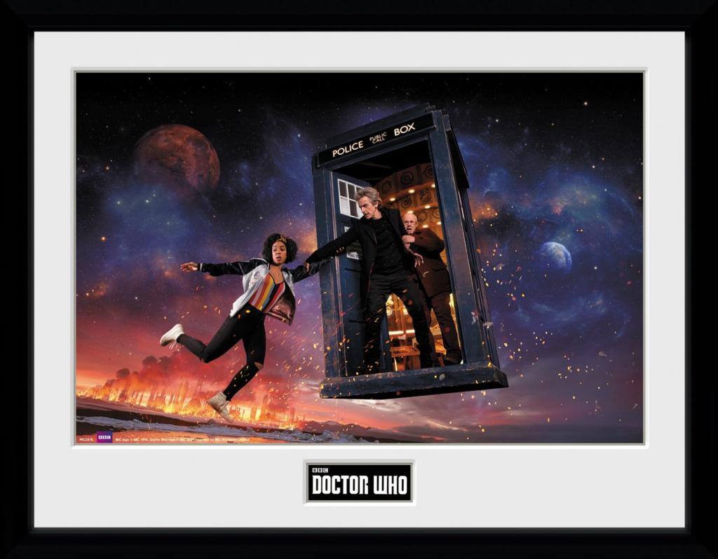DOCTOR WHO - Collector Print 30X40 - Season 10 Iconic_1