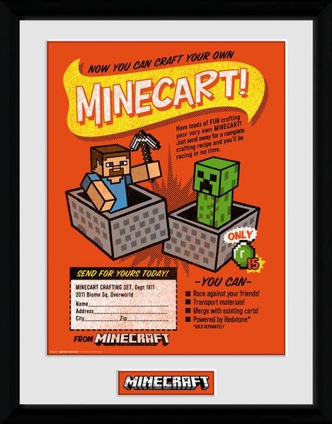 MINECRAFT - Collector Print 30X40 - Craft Your Own Minecraft