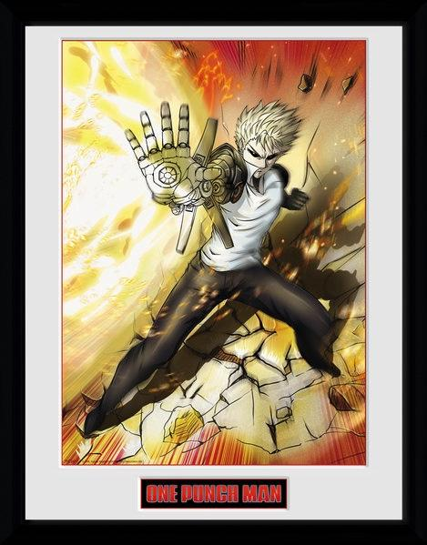 ONE PUNCH MAN - Collector Print 30X40 - Genos