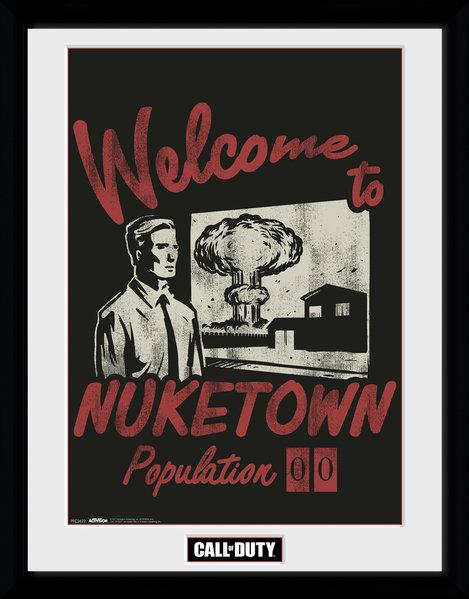 CALL OF DUTY - Collector Print 30X40 - Welcome to Nuketown