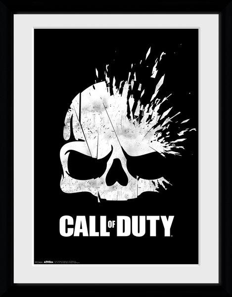 CALL OF DUTY - Collector Print 30X40 - Logo Skull