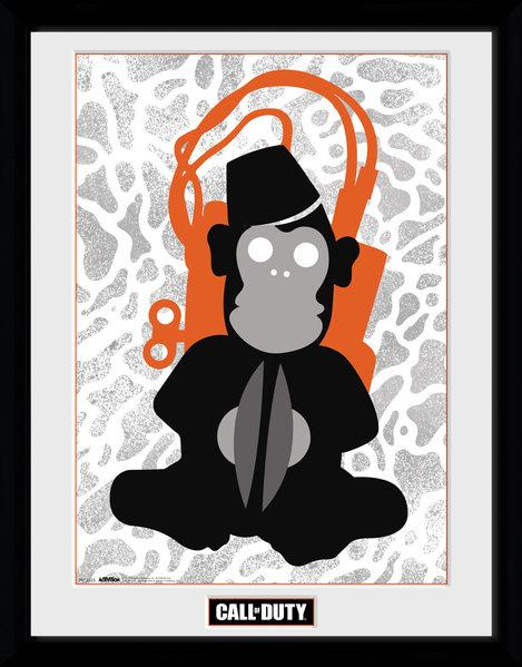 CALL OF DUTY - Collector Print 30X40 - Monkey Bomb