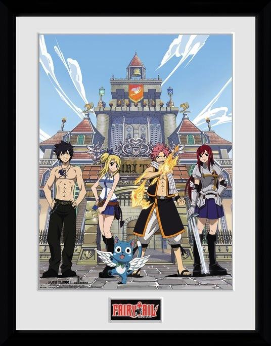 FAIRY TAIL - Collector Print 30X40 - Saison 1 Key Art