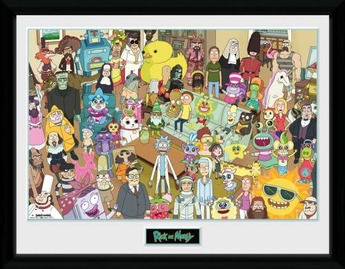 RICK & MORTY - Total Rickall - Collector Print '30x40cm'