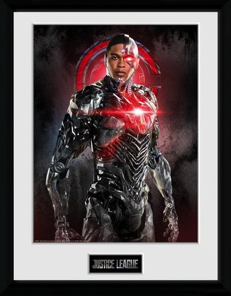 JUSTICE LEAGUE - Collector Print 30X40 - Cyborg