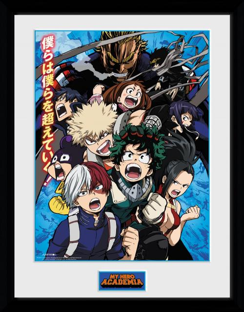 MY HERO ACADEMIA - Season 2 - Collector Print '30x40cm'