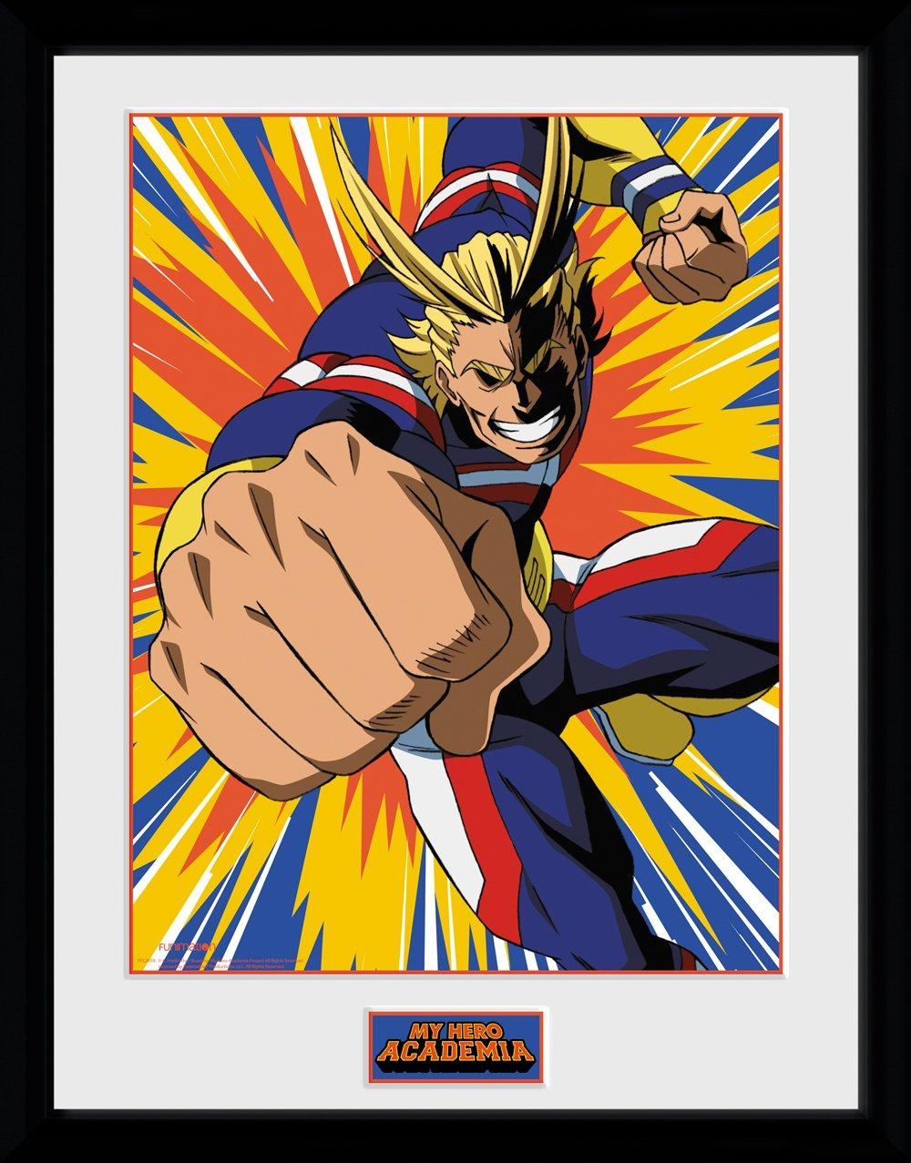 MY HERO ACADEMIA - Collector Print 30X40 - All Might Action